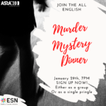 Sign Up for a Murder Mystery Dinner