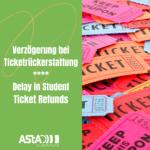 Verzögerung bei Ticketrückerstattung