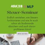 Steuer-Seminar für TU Studierende – AUSGEBUCHT!