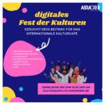 Gesucht: Dein Beitrag für das (digitale) Fest der Kulturen!