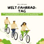 Am 3. Juni ist Welt-Fahrrad-Tag