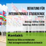 Beratung für internationale Studierende