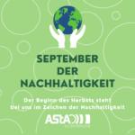 September der Nachhaltigkeit