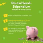 Deutschland-Stipendium WiSe 2021/22
