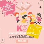 K3 – Kinder, Kaffee und Klamotten